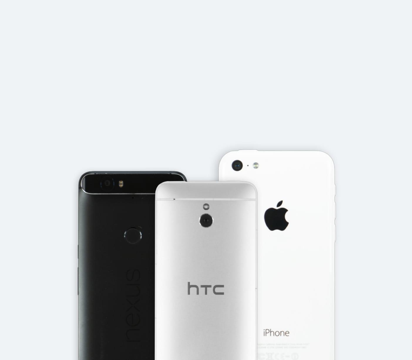 Smartphones und iPhones verkaufen. Preis ermitteln. Kostenlos einsenden. Geld erhalten.